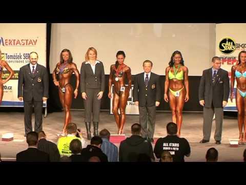 Junior Women`s Fitness +163 cm, Winner. World Amateur Championships, Pilsen