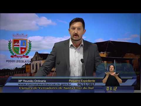 38ª Reunião Ordinária - 06/11/2017