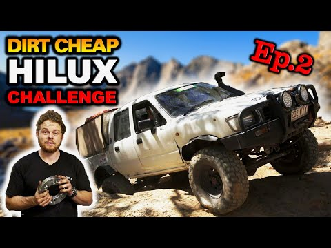 $1000 to make this Budget 4WD TWICE as good off-road! Can it outdrive a MASSIVELY modified HiLux?