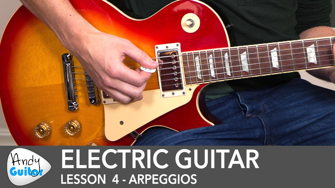 Electric Guitar Lesson 4 – Picked Arpeggios for Beginners