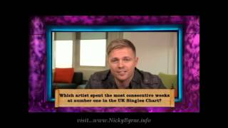 Nicky Byrne Clip 1001 Things You Should Know ep 5
