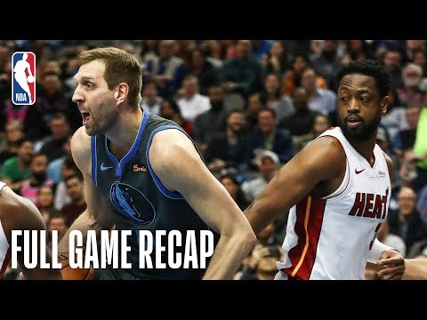 Video: HEAT vs MAVERICKS | Wade Leads Miami In Dallas | February 13, 2019