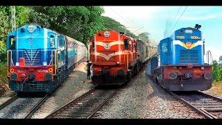 Video Single Line Trains & Crossings : Indian Railways MP3, 3GP, MP4, WEBM, AVI, FLV Juli 2018