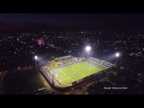 Copa Sudamericana 2016 Recibimiento a  Luque vs Peñarol - Chancholigans - Sportivo Luqueño