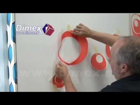 Videonávod lepenie dekorácií na stenu