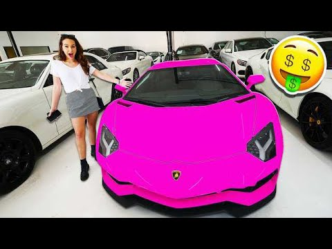 SAYING YES TO MY GIRLFRIEND FOR 24 HOURS! *NEW CAR*