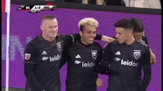 Wayne Rooney Free Kick for the Incredible Goal of Lucas Rodriguez 16/03/2019