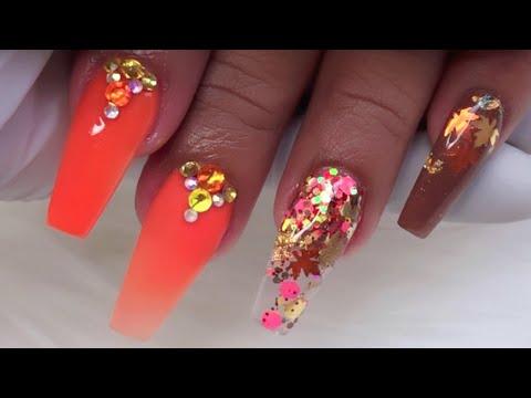 Diseños de uñas - Fall Nail Art Ideas/Diseñó De uñas para otoño