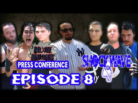 The official Hardcore Homecoming press conference | ESW Shockwave: Season 4, episode 8