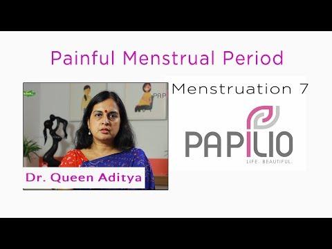 (Painful Menstrual Period. Menstruation 7 - Duration: 116 sec.)