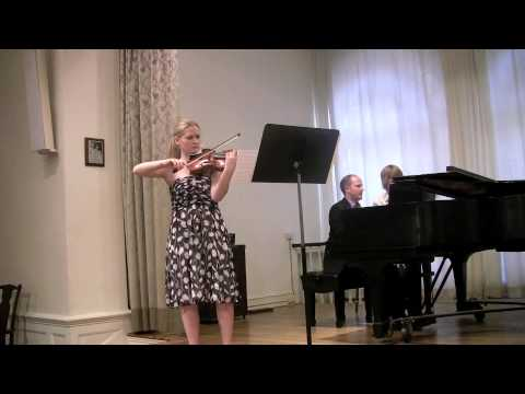 Grieg Sonata No. 3 for Violin and Piano, 1st movement