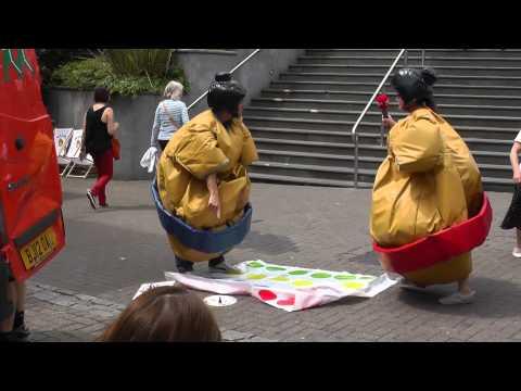 Nicola Hume – Heart's Adventures in Sumo Suits
