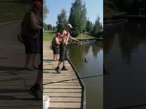 Видеоотчет о рыбалке за 11 июля 2021 г.