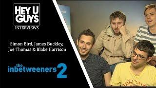 Simon Bird, Blake Harrison, James Buckley & Joe Thomas Interview - The Inbtweeners 2