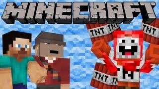Minecraft Trolling: ExplodingTNT (ItsJerryAndHarry)