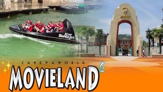 Garda Italy  city images : Movieland Park HD (Canevaworld Resort @ Lake Garda, Italy) - Park Video 2015 - Diabolik, Magma,...