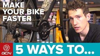 Video 5 Ways To Make Your Road Bike Faster MP3, 3GP, MP4, WEBM, AVI, FLV Februari 2019