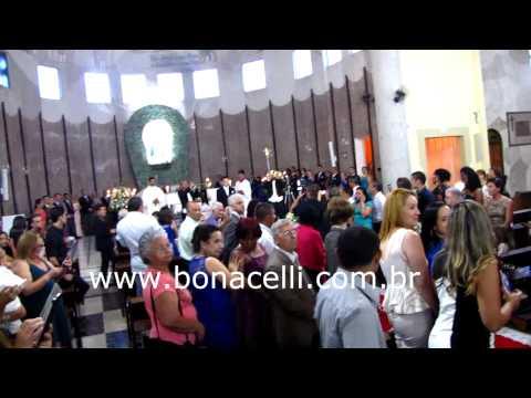 Igreja Nossa Senhora dos Remédio Casamento Orquestra e Coral Bonacelli Entrada da Noiva