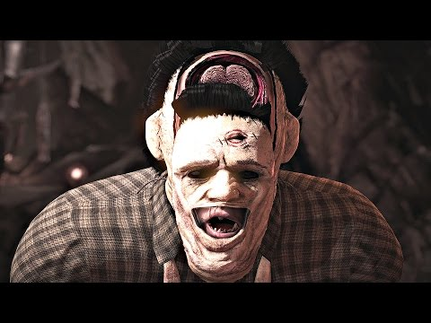 Mortal Kombat X - All Fatalities On Leatherface
