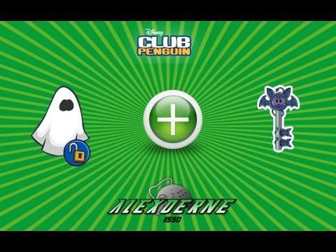 Nuevo Codigo de Fantasma Para Club Penguin + Nuevo Pin 4/10/12