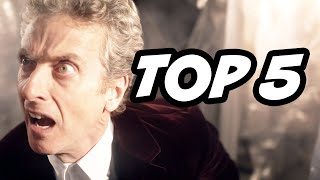 Doctor Who Series 9 Episode 11 Finale Part 1. The Hybrid Prophecy, Peter Capaldi Solo Classic Who Easter Eggs, 50th Anniversary Matt Smith Gallifrey ...