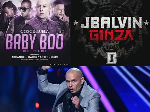 Baby Boo Remix Daddy Yankee Wisin-Ginza-J Balvin-Premios Juventud 2015-Nicky Jam-Pitbull