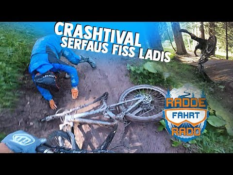 More Crashes - Bikepark Serfaus Fiss Ladis - Roadtrip Day 2 Vlog -subtitled-