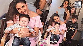 Taimur Ali Khan Surprises Mommy Kareena Kapoor Khan | LehrenTV