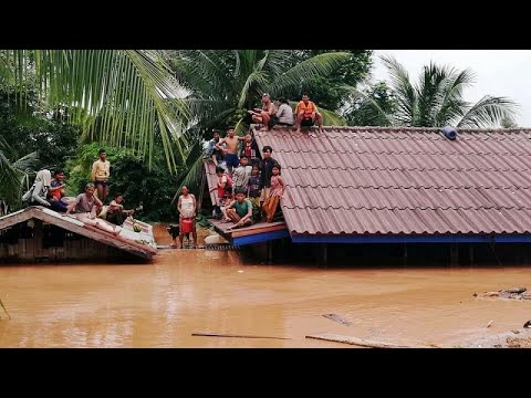 Λάος: Εκατοντάδες αγνοούμενοι από κατάρρευση φράγματος…