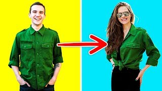 Video 20 CLOTHING HACKS THAT ARE ABSOLUTELY BRILLIANT MP3, 3GP, MP4, WEBM, AVI, FLV Maret 2018