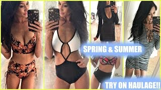 CLOTHING TRY ON HAUL! It's that time again! SPRING AND SUMMER clothes! I am going on a cruise in 28 days with a bunch of ...