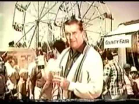 Ed McMahon Vintage 1960's Budweiser Beer Commercial