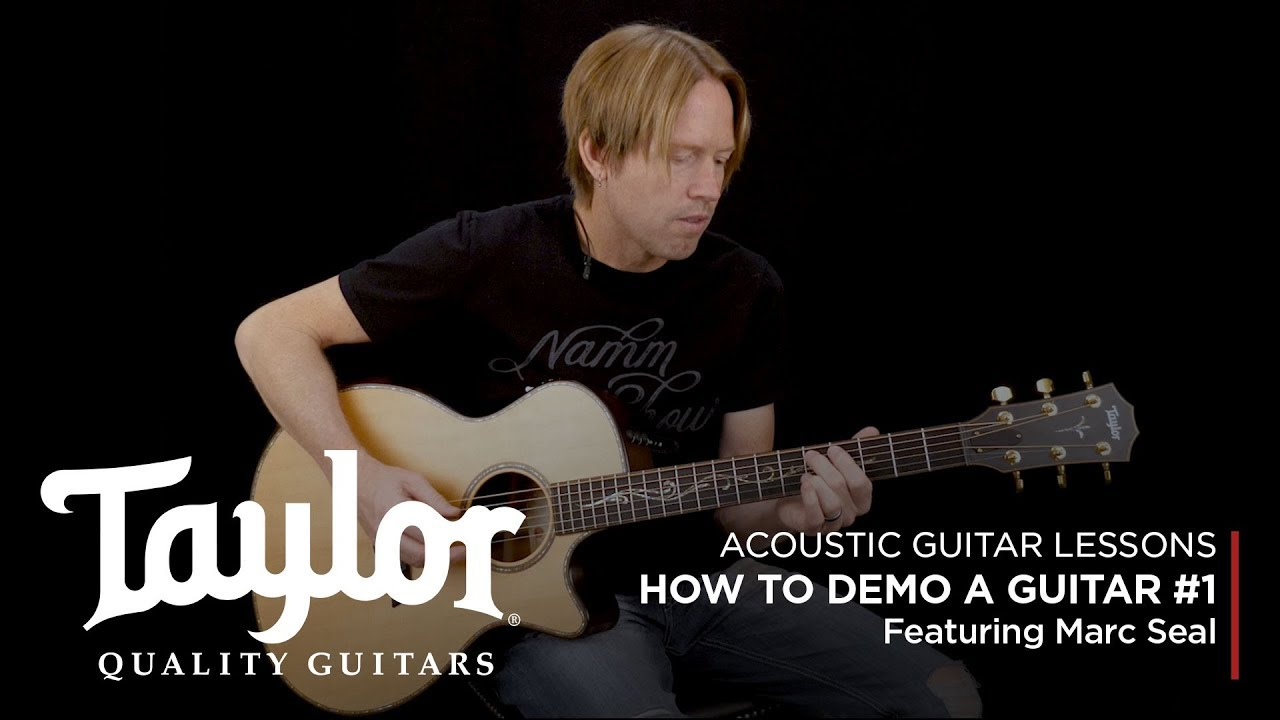 Guitar Lessons: How to Demo an Acoustic Guitar