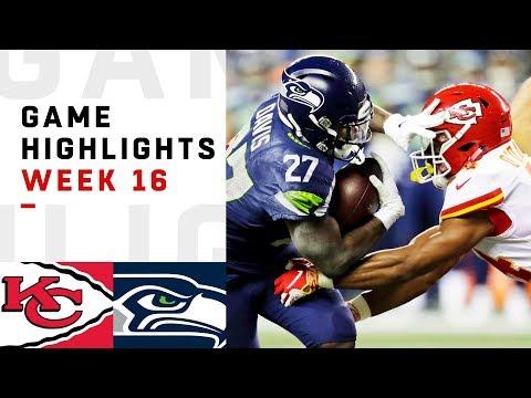 Chiefs vs. Seahawks Week 16 Highlights | NFL 2018