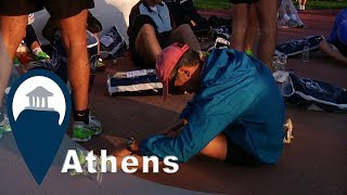 Athens Marathon | Start Line Facilities & Services | Video4