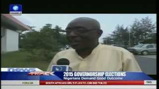 Nigerians Demand Good Outcome From The Governorship Elections