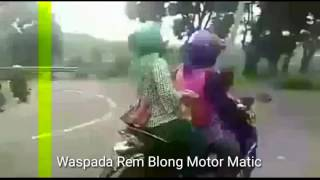 Video Detik Detik Motor Matic Vario Rem Blong MP3, 3GP, MP4, WEBM, AVI, FLV Mei 2018
