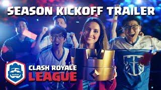 Clash Royale League: OFFICIAL 2018 Season Kickoff Trailer!