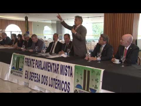Beto Mansur participa de encontro com lotéricos em Brasília.