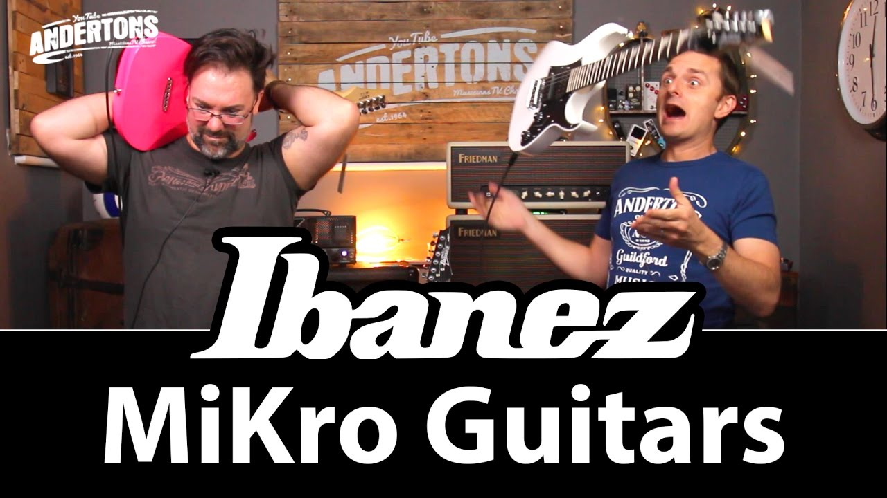 Ibanez Mikro Guitars – The Perfect Electric for Small People!