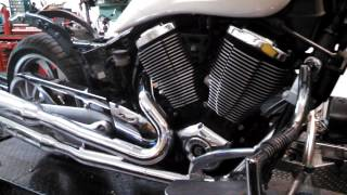 2. 2007 Victory Kingpin engine 100ci 15k miles