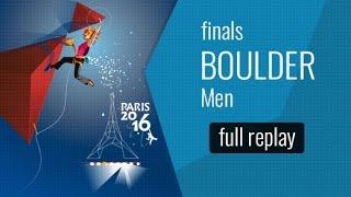 ( LIVE) IFSC World Championships Paris 2016 - Bouldering - Finals - Men by International Federation of Sport Climbing