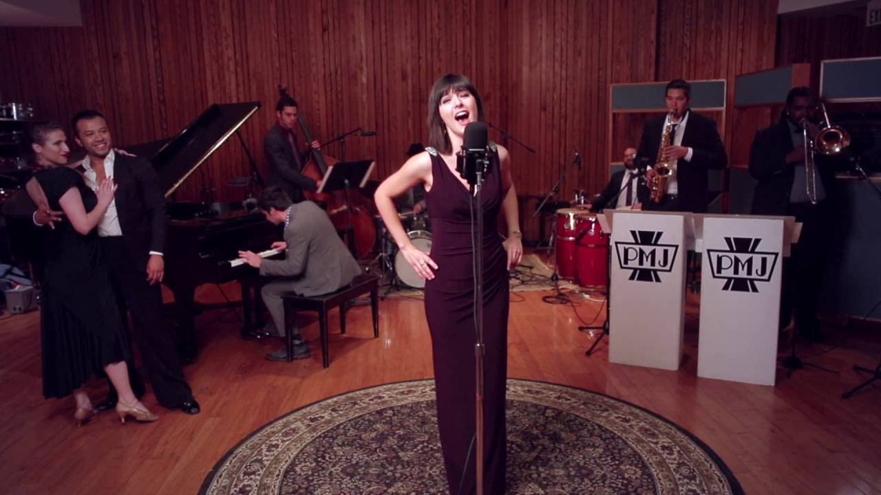 I Will Survive – Vintage '40s Jazz / Latin Ballroom Style Cover ft. Sara Niemietz