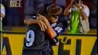 Torneio Rio-São Paulo 1999 - 2° Jogo da final - Santos 1x2 Vasco - Gols do Vasco marcados por Zé Maria de falta e Juninho...