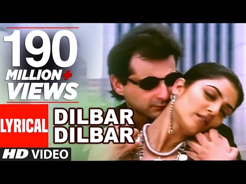 Download Dilbar Dilbar Lyrical Video | Sirf Tum | Sushmita Sen, Sanjay Kapoor HD Mp4 3GP Video and MP3