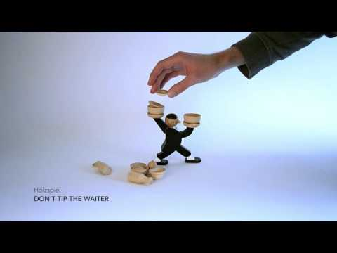 Holzspiel DON`T TIP THE WAITER Video