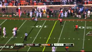 Logan Thomas vs Virginia (2011)