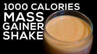 1000 Calories Mass Gainer Shake