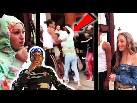 DANIELLE BREGOLI FIGHTS WOAH VICKY & LIL TAY FULL VIDEO (EXTENDED VERSION) - REACTION