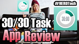 #HEROTech weekly App Review. Here's an overview of how I use the 3030 App to get stuff done. I love making lists and prioritizing. This app supports my Pomodoro technique workflow like no other. I highly recommend this app to: - Students who wanna get their work done efficiently and move on with their lives- Peeps with ADHD- Peeps who use the Pomodoro technique- Peeps who love making listsWHAT'S YOUR FAVORITE TASK APP/PRODUCTIVITY HACK? Share with me in the comments!3030 App Website: http://3030.binaryhammer.com/Download 3030 for iOS: https://itunes.apple.com/app/30-30/id505863977?ls=1&mt=8up, Up and AWAY!Super Ivi, The Hashtag HEROPS: you have suggestions for next weeks app review, leave a comment! Thank you to our sponsors!!MessQueen New York: http://messqueen.com/NY State of Mind Clothing: http://www.nysmclothing.com/Curious about that standing desk?  http://amzn.to/1QKvYLfMore on the Pomodoro Technique: http://pomodorotechnique.com/Follow The Adventures @TheHashtagHEROhttps://www.Facebook.com/TheHashtagHEROhttps://Twitter.com/TheHashtagHEROhttps://Instagram.com/TheHashtagHEROSubscribe to our mailing list receive updates on Events, Hangouts, News and all things super!http://www.TheHashtagHERO.com/eventsFollow The Adventures @TheHashtagHEROhttps://www.Facebook.com/TheHashtagHEROhttps://Twitter.com/TheHashtagHEROhttps://Instagram.com/TheHashtagHEROSubscribe our kickass mailing list to receive updates on Events, Hangouts, News and all things super!http://www.TheHashtagHERO.com/events